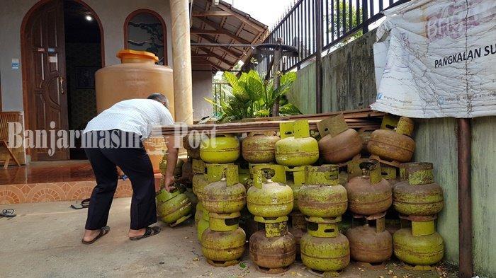 Banjir di Kalsel 2021, SPBE di Kabupaten Tala Terpaksa Ambil LPG ke Balikpapan Lewat Batulicin