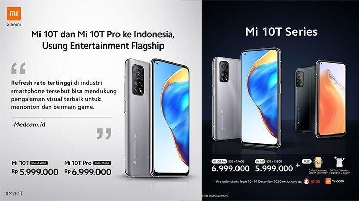 DAFTAR Harga HP Xiaomi Akhir Tahun 2020, Xiaomi Mi 10T hingga Redmi 9C, Spek Terbaru Cek di Sini!