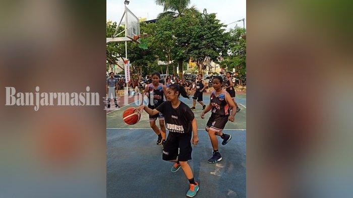 Kejuaraan Bola Basket 3x3 di Kota Kandangan Kalsel Diundur karena Merebaknya Virus Corona