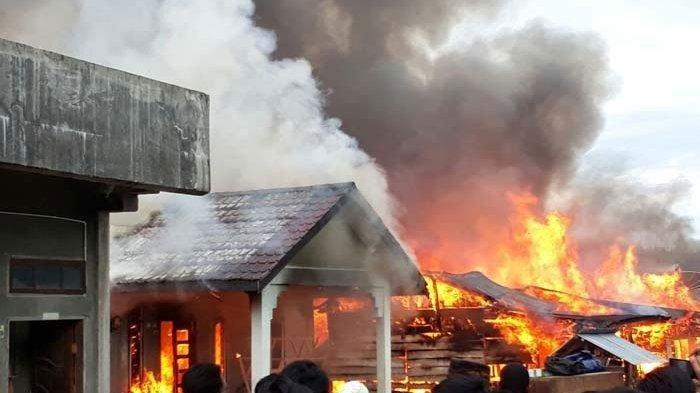 Polsek Tambelangan Madura Dibakar 400 Massa, Polda Jatim Masih Pastikan Terkait Rusuh Aksi 22 Mei