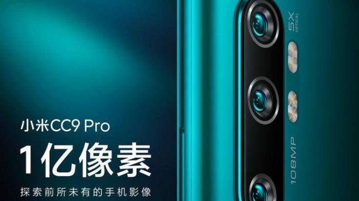 WOW! Usung Kamera 108 Megapiksel Pertama di Dunia, Harga Xiaomi Mi Note 10?