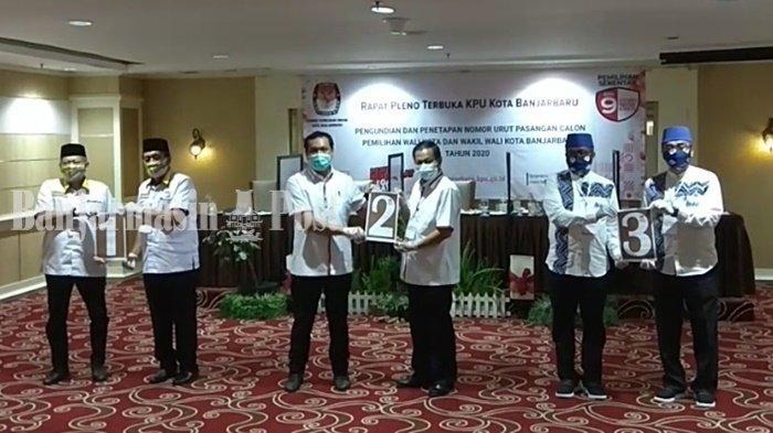 Aditya-Wartono Akan Silaturahmi ke Paslon Lain, Setelah Penetapan Pemenang Pilwali Banjarbaru