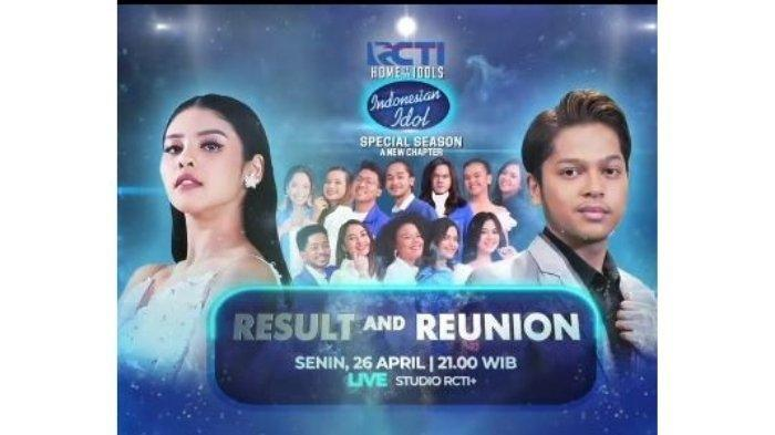 Live RCTI, Link Video Streaming Indonesian Idol 2021: Babak Result and Super Reunion Jam 21.00 WIB