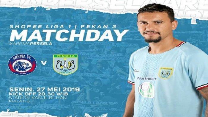 Cuplikan Gol & Hasil Arema FC vs Persela Lamongan Liga 1 2019, Skor 3-2, Pesta Gol di Babak Pertama