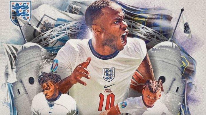 Klasemen Grup D EURO 2021 Usai Hasil Inggris vs Skotlandia, Harry Kane cs Ditahan di Wembley