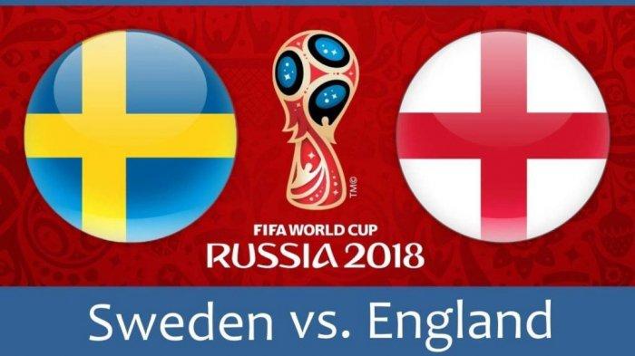 Live Trans TV! Cara Live Streaming Swedia vs Inggris Perempat Final Piala Dunia 2018 Di Smartphone
