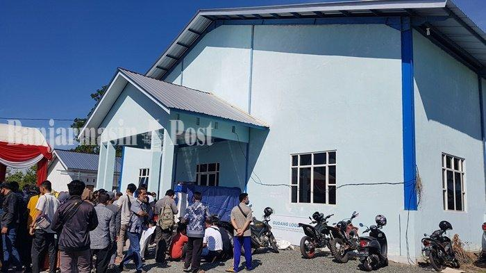 KalselPedia, Gedung Logistik KPU Kabupaten Banjar