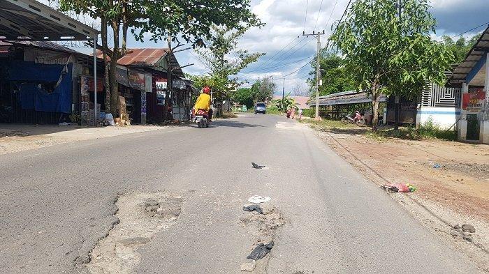 Belum Seluruh Jalur TuntasDiperbaiki, Jalan Martapura Lama Belum Dilengkapi Marka dan Pita Getar