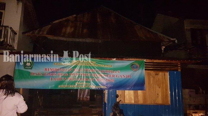 Kebakaran Kalsel, Geger Api di Jalan Pangeran Hidayatullah Martapura, Dua Rumah Rusak Ringan