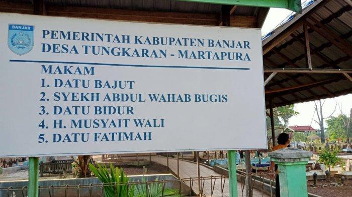 Kalselpedia-Situs Cagar Budaya dan Wisata Religi Makam Syekh Abdul Wabah Bugis Al Banjari