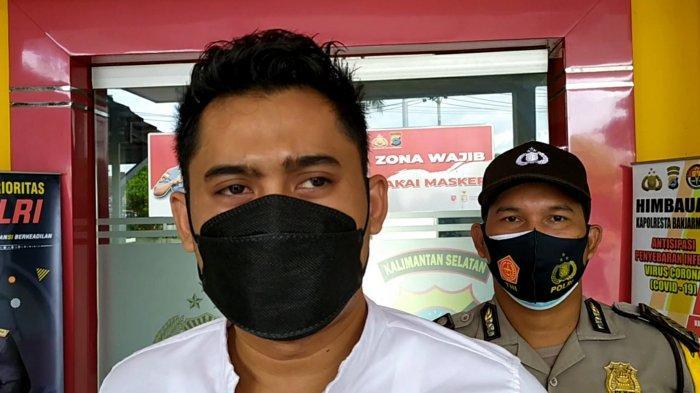 Sempat Mencoba Kabur, Terduka Pelaku Pembakaran di Sungai Baru Banjarmasin Diamankan Polisi