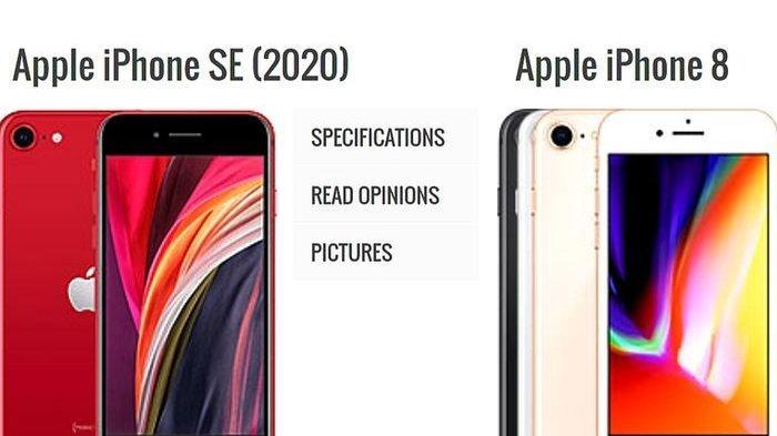 Perbandingan Daftar Harga dan Spesifikasi HP iPhone SE ...
