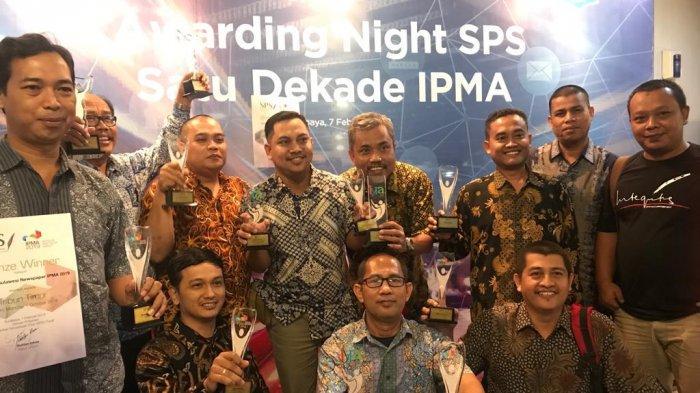 BPost Raih Penghargaan IYRA dan IPMA, Liputan Milenial dan Koran Terbaik Regional Kalimantan