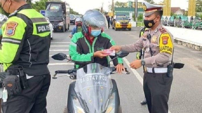 Operasi Keselamatan Intan 2021 Berakhir, 1.200 Lebih Pengendara di Banjarbaru Dapat Teguran
