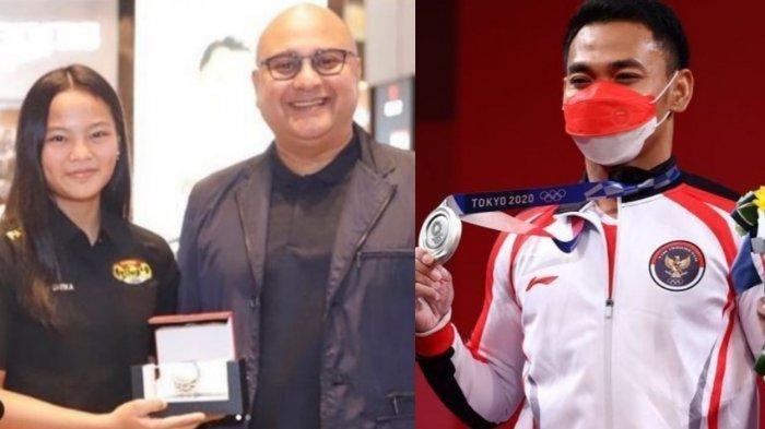 Rebut medali Olimpiade 2021, Windy dan Eko banjir Hadiah fantastis dari Irwan Mussry