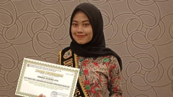 Runner Up II Duta Pepelingasih Kalsel Ingin Ajak Anak Muda Peduli Lingkungan
