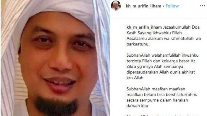 Ramadhan 2020 Tanpa Ustadz Arifin Ilham, Istri Pertama Kenang Suami