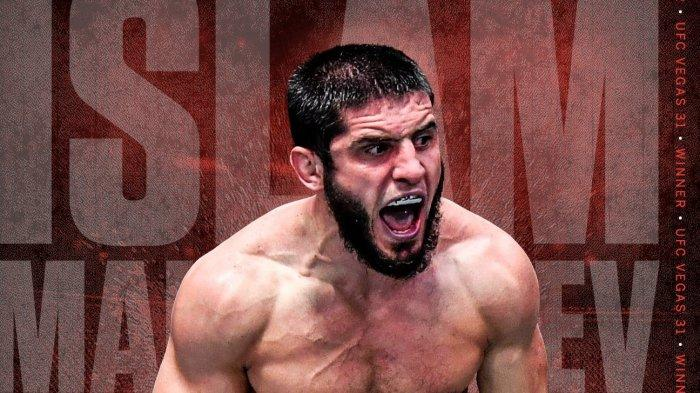Hasil UFC Vegas 31 Hari Ini Islam Makhachev Kalahkan Thiago Moises dengan 'Jalan Nurmagomedov'