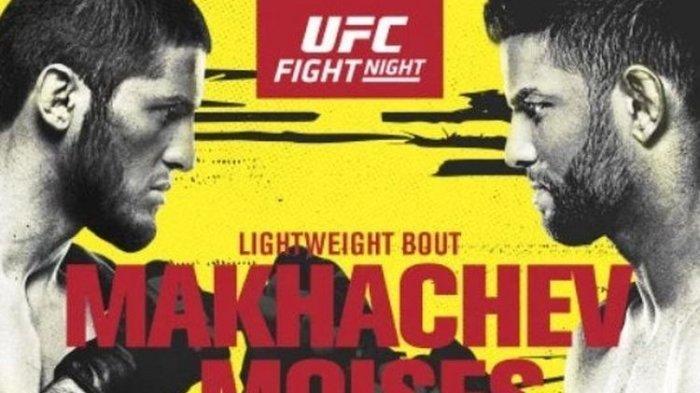 Live Fox Sports 1! Jadwal Live Streaming Islam Makhachev vs Moises di UFC Vegas 31 Minggu Pagi