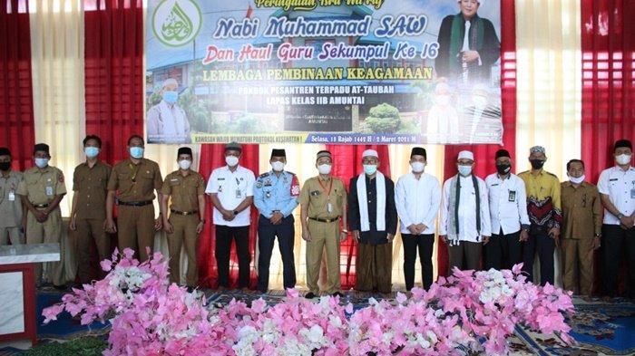 Jajaran Lapas IIB Amuntai Kabupaten HSU Selenggarakan Peringatan Isra Mikraj