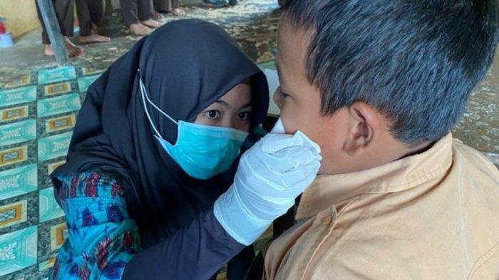 Kisah Perawat Gigi dari Sungailoban Menghadapi Pasien Cilik, Andalkan Kalimat Rayuan ini