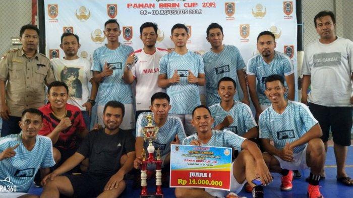 Tim Futsal ASN Kotabaru Juarai Paman Birin CUP 2019 di Banjarmasin