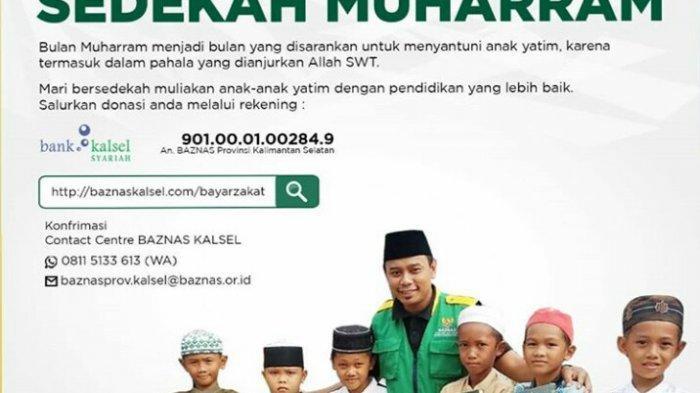 Sedekah di Bulan Muharram via Bank Kalsel Syariah
