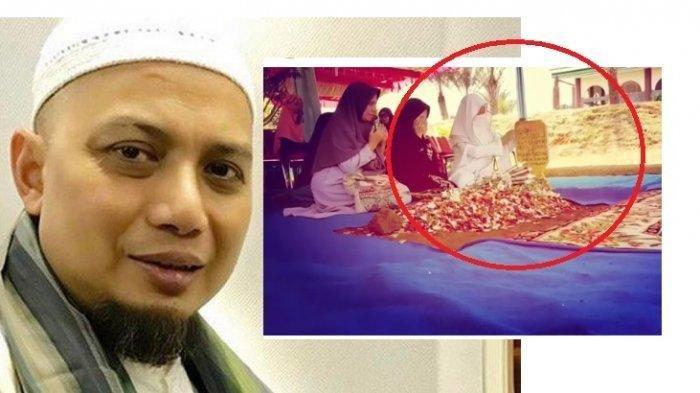 Istri Ketiga Didatangi Ustadz Arifin Ilham Lewat Mimpi, Buru-buru Datangi Makam & sebut Kalimat Ini