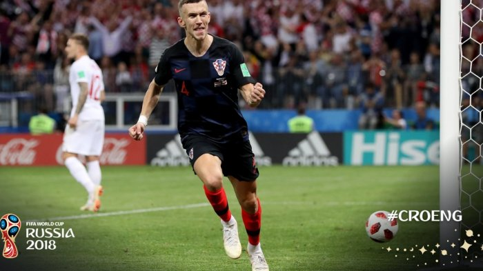 Kroasia VS Inggris : Ivan Perisic Balas Gol Kieran Trippier