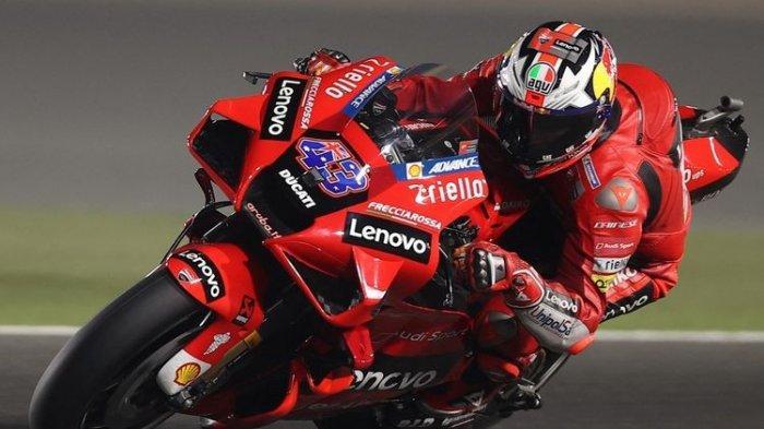 Hasil FP2 MotoGP Doha 2021, Jack Miller Pimpin Dominasi Ducati, Valentino Rossi Melempem