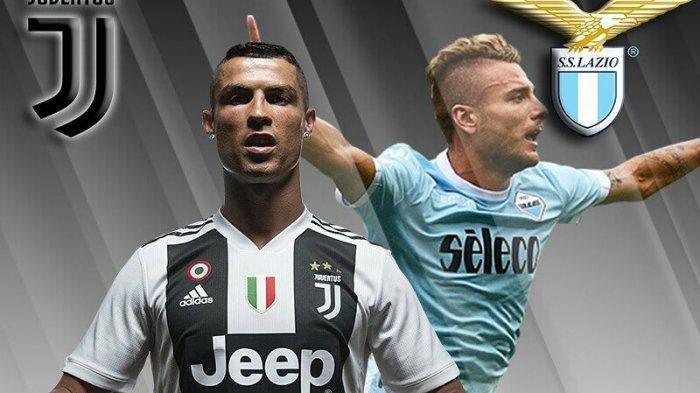 LINK TVRI! Live Streaming Juventus vs Lazio Piala Super Italia, TV Online Usee TV Supercoppa Italia