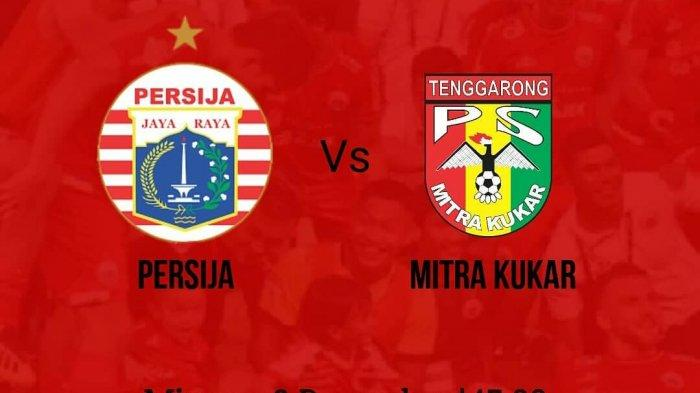 Sesaat Lagi! Live Streaming Indosiar Persija Jakarta vs Mitra Kukar Liga 1 2018, Persija Juara?