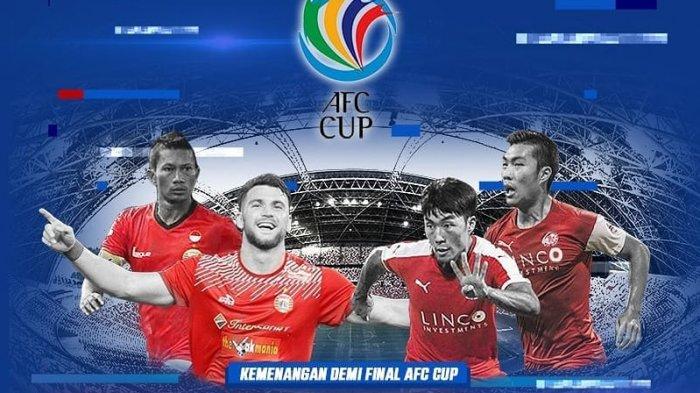 Live Streaming RCTI Persija Jakarta vs Home United Semifinal Piala AFC 2018 Zona ASEAN Malam Ini