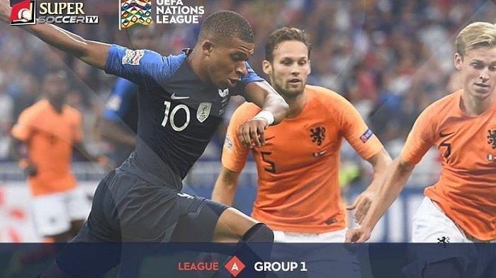 Link Live Streaming Belanda vs Prancis via Live Streaming My Supersoccer.tv di UEFA Nations League