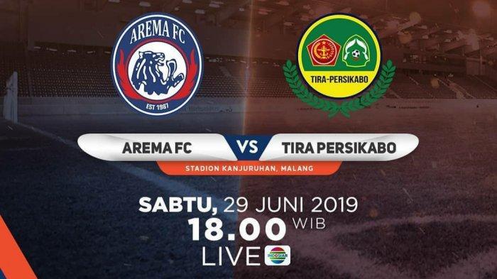 Live Streaming Indosiar Arema FC vs Tira Persikabo di Liga 1 2019 Pekan 6, Cek Juga Link Vidio.com