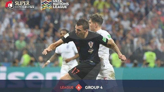 Live Streaming Inggris vs Kroasia - Live Streaming My Supersoccer.tv UEFA Nations League Malam ini