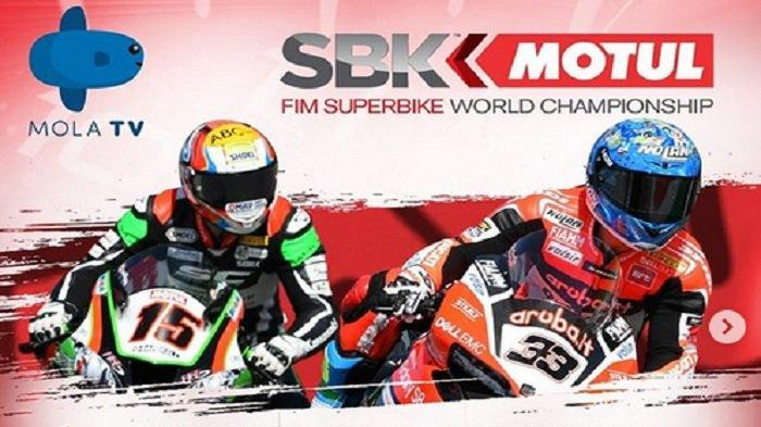 SESAAT LAGI Live Kompas TV! Live Streaming Superbike Portugal 2020, TV Online Mola TV