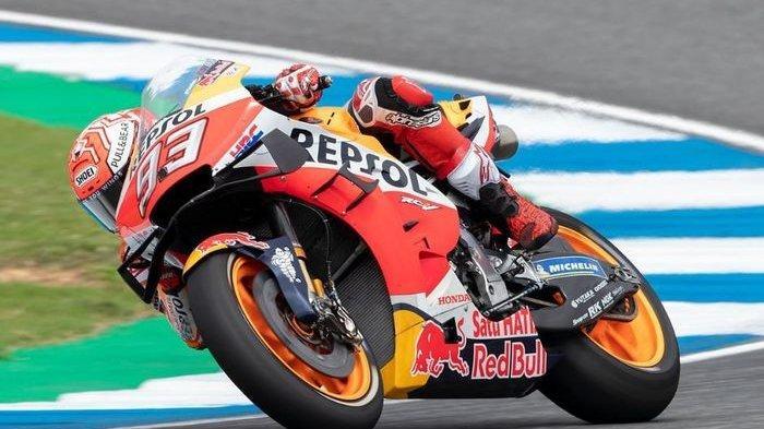 Hasil MotoGP Jepang 2019, Marc Marquez Tercepat, Valentino Rossi di Posisi ini di Sesi WUP
