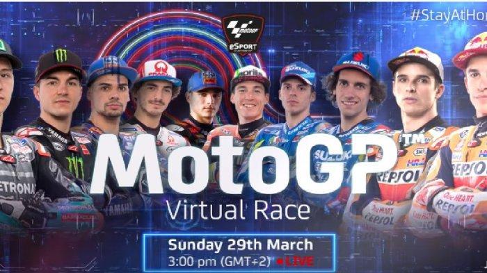 Jadwal MotoGP Virtual Race Seri ke-2, Marquez Bersaudara Siap, Valentino Rossi Absen