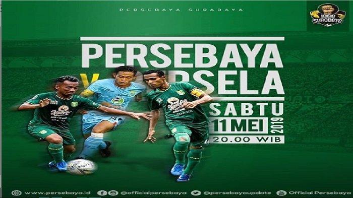 TIDAK LIVE DI TV - Jadwal Persebaya Surabaya Vs Persela Jelang Piala Indonesia & Liga 1 2019