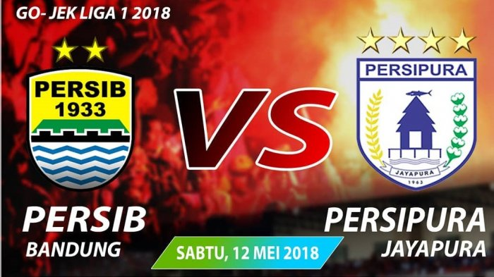 LIVE STREAMING Indosiar Persib vs Persipura Liga 1 Pekan 8, Link Live Streaming Vidio.com