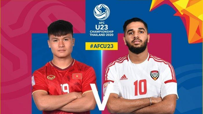 Live Streaming Fox Sports Jadwal Piala AFC U-23 2020 Jumat (10/1) Vietnam vs UAE, Korut vs Yordania