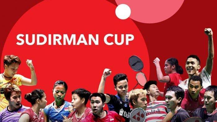 Jadwal Piala Sudirman 2019 - Siaran Langsung di TVRI Mulai Minggu (19/5) Tim Indonesia Optimis