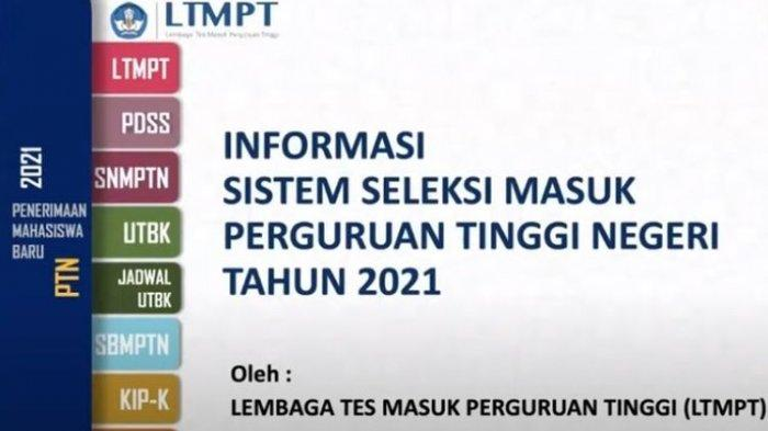 Jadwal Resmi Pendaftaran SNMPTN, UTBK, SBMPTN 2021 Beserta Syarat yang Harus Dilengkapi