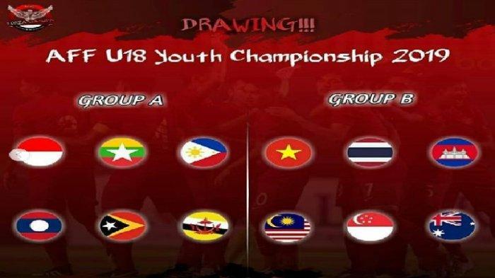 LIVE VIDIO.COM! Link Live Streaming Malaysia vs Thailand Piala AFF U-18 2019, Lawan Timnas Indonesia