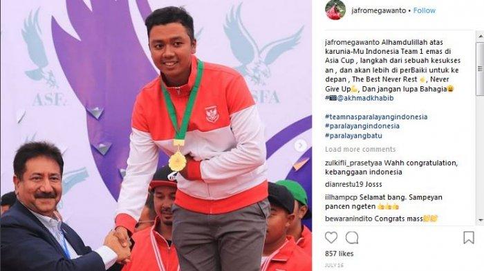 Saldo Tabungan Jafro Megawanto Paling Gede, Menpora Ungkap Angka Bonus Atlet