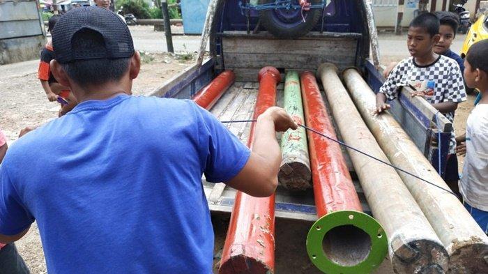 Masih Ada Langgar Imbauan, Tujuh Meriam Karbit di Martapura Timur Kembali Diamankan Polisi