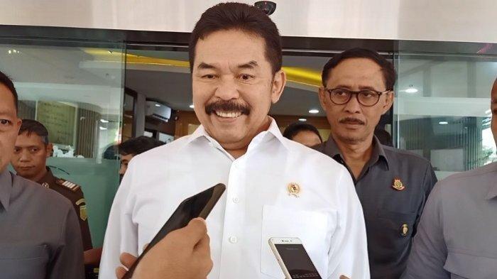 Jaksa Agung RI ST Burhanuddin di Gedung Bundar Kejaksaan Agung RI, Jakarta Selatan, Rabu (22/1/2020).