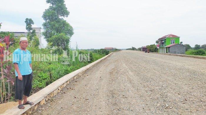 DPRD Kalsel Siapkan Anggarkan untuk Lanjutkan Pembangunan Jalan Bayur-Panangkalaan di HSU