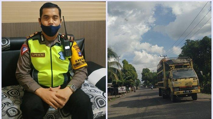 Jelang Lebaran, Satlantas Polres HST Jaga Titik Rawan Macet dan Laka